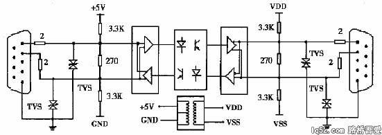 信号放大接口电路原理图